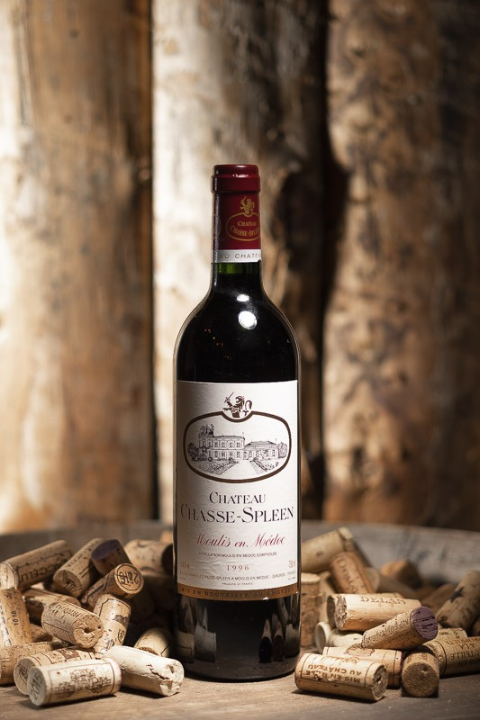 Château Chasse Spleen Rouge 1996