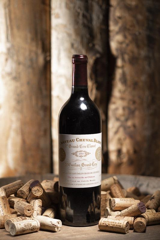 Château Cheval Blanc Rouge 2003