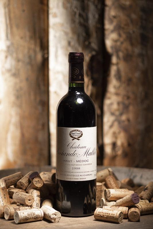Château Sociando Mallet Rouge 1998