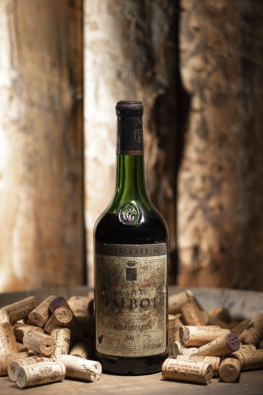 Château Talbot Rouge 1970