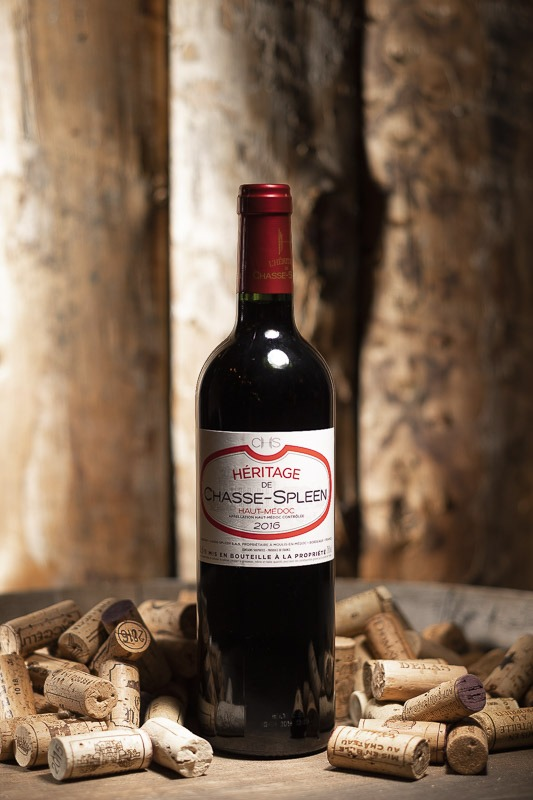 Héritage Château Chasse Spleen Rouge 2016